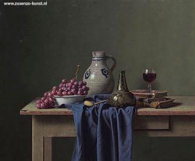 Eric De Vree (1966) Belgische kunstschilder - Giclee Eric de Vree - Zus ENZO Kunst Giclee