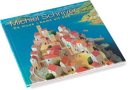 Boek-michiel-schrijver-de-muze-komt-uit-zee