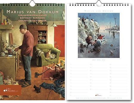 Marius van Dokkum – Verjaardagskalender