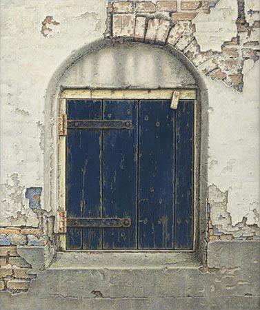 giclee-aad-hofman-blauw-luikje