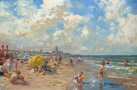 giclee-hans-versfelt-dagje-strand