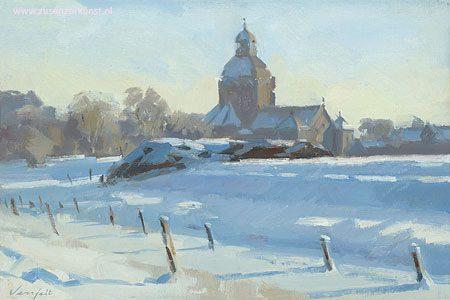 giclee-hans-versfelt-sneeuwlandschap-met-kerk