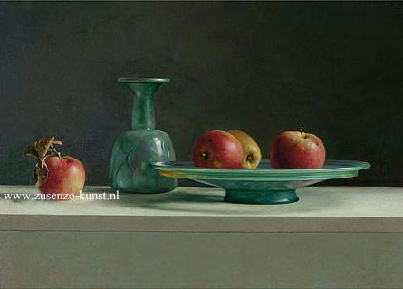 giclee-henk-helmantel-romeins-glas-met-appels