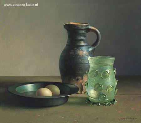 giclee-henk-helmantel-stilleven-15e-eeuws-drinkbeker
