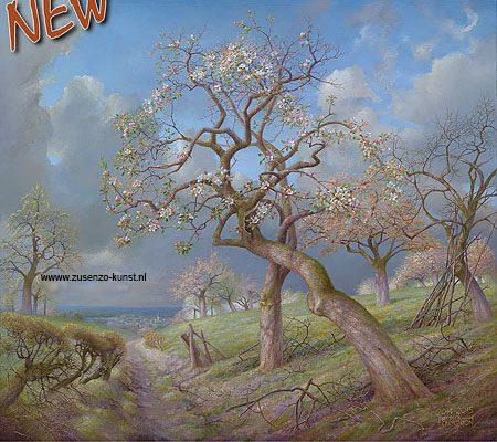 giclee-patrick-creygton-bloeiende-appelboom