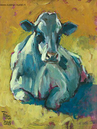 giclee-theo-onnes-liggende-koe