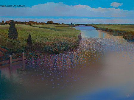 giclee-ton-dubbeldam-reitdiep-bij-wierumerschouw