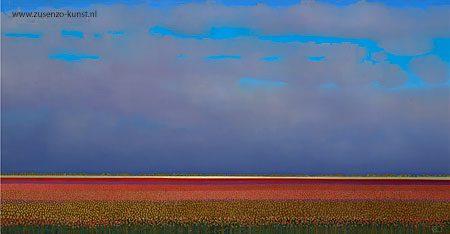 giclee-ton-dubbeldam-rode-tulpenvelden