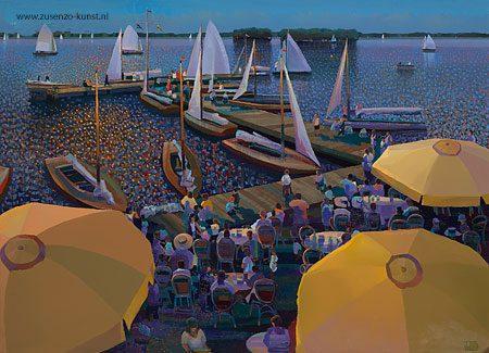 giclee-ton-dubbeldam-zomeravond-paterswoldse-meer