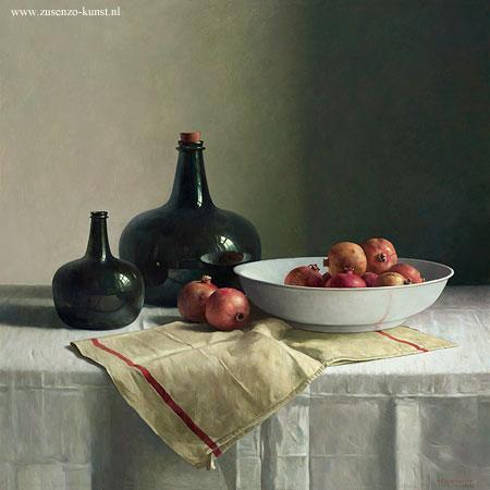 giclee-henk-helmantel-granaatappels-chinese-schaal