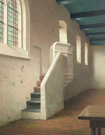 henk-helmantel-preekstoel-van-kerk-fransum