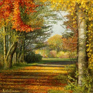 Kunstschilder Giclee Aad Hofman Giclees herfsttooi